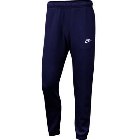 Spodnie męskie Nike M NSW Club Pant CF BB granatowe BV2737 410