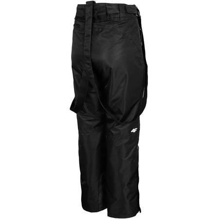Spodnie narciarskie damskie 4F głęboka czerń H4Z19 SPDN001 20S