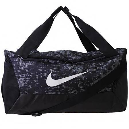 Torba Nike Brasilia S Duff 9.0 czarno-biała BA5958 010
